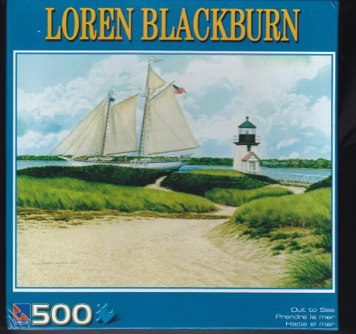 Out to Sea- 500 Piece Jigsaw Puzzle by Loren Blackburn