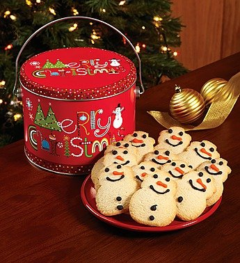 Merry Christmas Cookie Pail - Cookie Pail