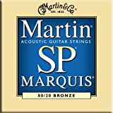Martin SP Marquis 80/20 Acoustic Guitar Strings - Bronze Wound / Hand Silked (Medium, .013 - .056)