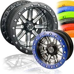 HiPer Wheels Sidewinder Single Beadlock Front/Rear Wheel – 12×9 (4+5 offset) 4/156/Black/Black