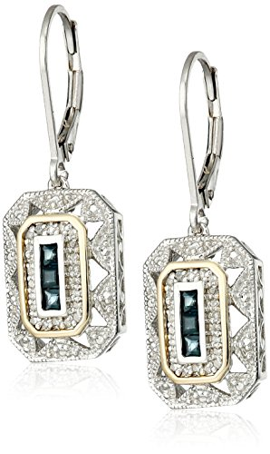 sterling-silver-and-14k-yellow-gold-blue-sapphire-with-diamond-accent-art-deco-style-drop-earrings-0