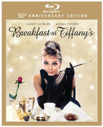 Cover art for  Breakfast at Tiffany's (50th Anniversary Edition) [Blu-ray]