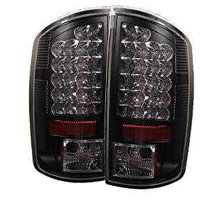 Spyder Dodge Ram 1500 02-06/ Ram 2500 02-05 /Ram 3500 02-05 LED Tail Lights - Black from Spyder Auto