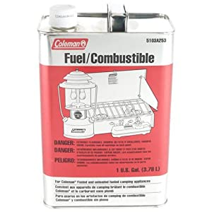 : Coleman Camp Fuel Aka White Gas, Naptha Metal Gal : Empty Camping