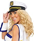 Roma Costume Sailor Captain Hat - As Shown - One Size Fits Most