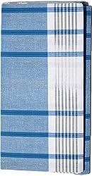 Velvet Gold Plus Men's Cotton Lungi (VTGP502_Multicoloured)