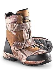Men's Guide Gear 600 gram Thinsulate Ultra Insulation Waterproof Boots Realtree AP Grey