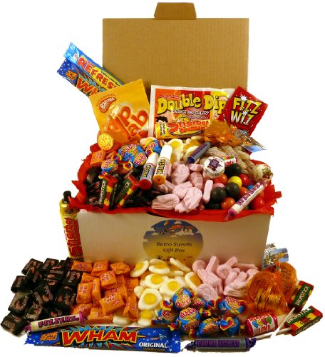 Retro Sweets Gift Box - The Biggest Box Of Retro