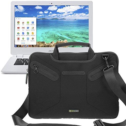 Evecase Multi-running Neoprene Messenger Case Tote Bag for Acer Chromebook 13 CB5-311-T1UU / T7NN / T9B0 (13.3-inch Replete HD, NVIDIA Tegra K1, 4GB)