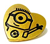 "Despicable Me ""The Minions"" 2015 Official Movie Special Loving Golden Heart Badge"