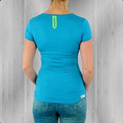 Yakuza Premium T-Shirt Damen Infernal Machine GS 1600 blue - figurbetont - fällt normal aus