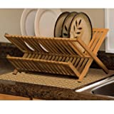 DryMate Tan Bamboo Weave Kitchen Dry Mat