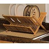 DryMate Tan Bamboo Weave Kitchen Dry Mat ~ Brookstone