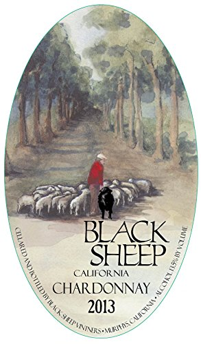 2013 Black Sheep Winery California Chardonnay 750 Ml