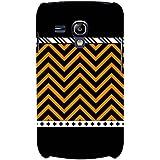 For Samsung Galaxy S3 Mini I8190 :: Samsung I8190 Galaxy S III Mini :: Samsung I8190N Galaxy S III Mini Zigzag Pattern ( Zigzag Pattern, Nice Pattern, Beautiful Pattern, Pattern, Stripes ) Printed Designer Back Case Cover By FashionCops
