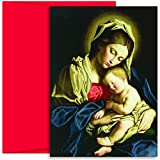 Masterpiece Studios Boxed Cards, 18-Count, Madonna and Child At Rest (75000)