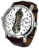 [エアロマチック1912]aeromatic1912 腕時計 ドイツ製GMTデュアルタイム クラシックなデザイン A1363 【並行輸入品】