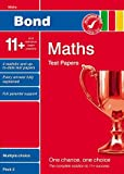 Bond 11+ Test Papers Maths Multiple-Choice Pack 2 (Bond 10 Minute Tests Maths)