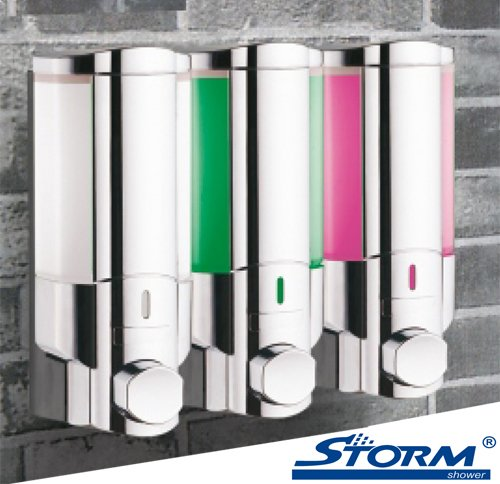 Shampoos Conditioners Stormshower Three Chamber