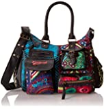 Desigual Bols London Medium-Estambul, Sac bandoulière
