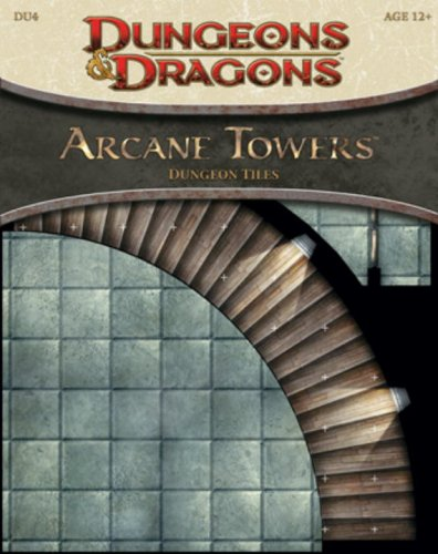 Arcane Towers - Dungeon Tiles: Dungeon Tile Set DU4 (D&D Accessory)
