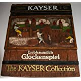 Rare Resin Wine Sign - Julius Kayser & Co. Liebfraumilch Glockenspiel. The Kayser Collection