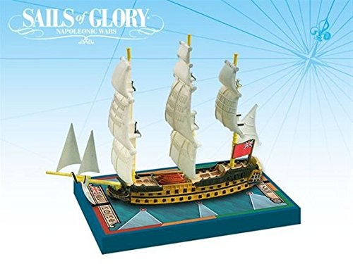 Sails of Glory Ship Pack - HMS Zealous 1785 Board Game (Revolutionary War British Side compare prices)