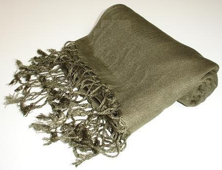 Pashmina Scarf Shawl Wrap Throw Army Green
