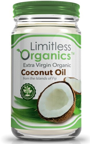 Extra Virgin Organic Coconut Oil 30 Ounce - Unbleached and Unrefined to Retain Antioxidants - Uses: For Healthy Cooking, Moisturizer for the Skin, and a Conditioner for the Hair - Produced in an Environmentally Friendly Way in a Glass Jar.