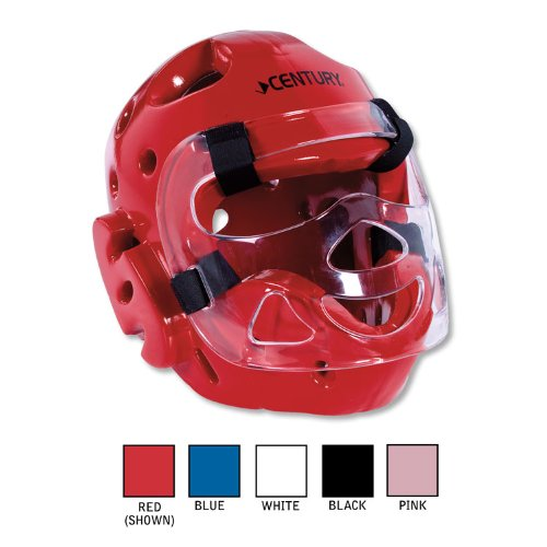 Century Full Head Gear with Face Shield-Black Small (Century Karate Sparring Gear compare prices)