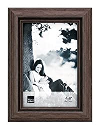 Kiera Grace Nolan Picture Frame, 4 by 6 inches, Grey Driftwood