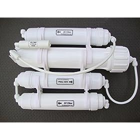 0PPM Portable 50 GPD Reverse Osmosis RO+DI Filtration POQ-4B-50