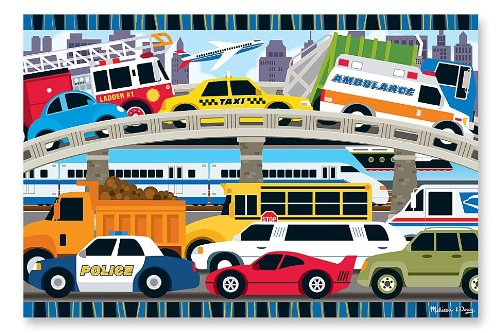 Melissa-Doug-Traffic-Jam-Floor-Puzzle-24-pc