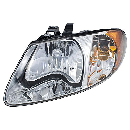 carpartsdepot-01-07-chrysler-town-country-lx-lxi-driver-left-side-head-light-lamp-assembly-new