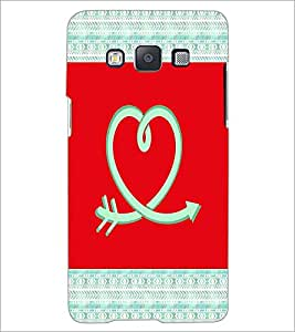 PrintDhaba Love D-5786 Back Case Cover for SAMSUNG GALAXY A5 (Multi-Coloured)