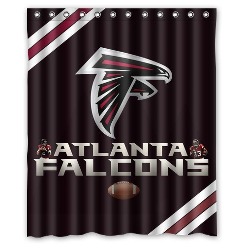 Falcons Shower Curtain Atlanta Falcons Shower Curtain Falcons Shower Curtains