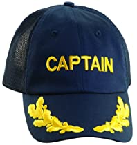 Dorfman Pacific Captain Baseball Cap with Adjustable Sizing