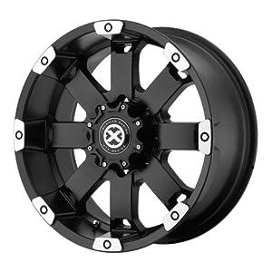American Racing ATX Crawl AX1857 Matte Black Machined Wheel (17×8″/5×4.75″)