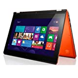 Ordinateur Portable LENOVO YOGA11S ORANGE INTEL CORE I3 3229Y  1.4GHZ  4GO 128GO WIN8