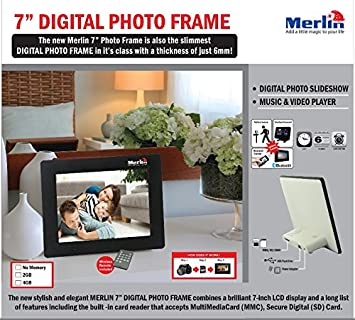 merlin 7 digital photo frame