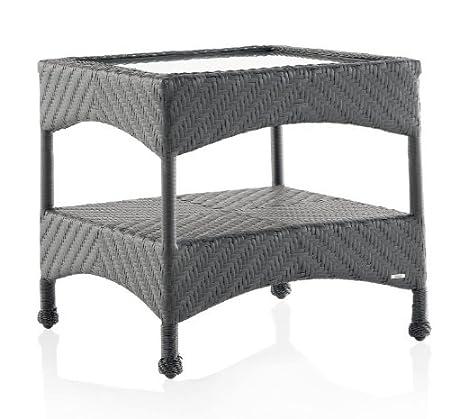 Mesa rincón aluminio y resina ref. 5363