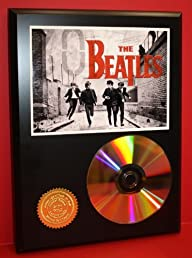 Beatles Limited Edition 24kt Gold Rare Collectible Disc Award Quality Music Display ***FREE USA…