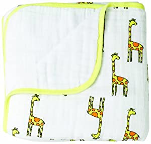 aden + anais Muslin Dream Blanket, Jungle Jam, Giraffe