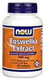 Now Foods Boswellia Extract 500 mg Softgels, 90 Count