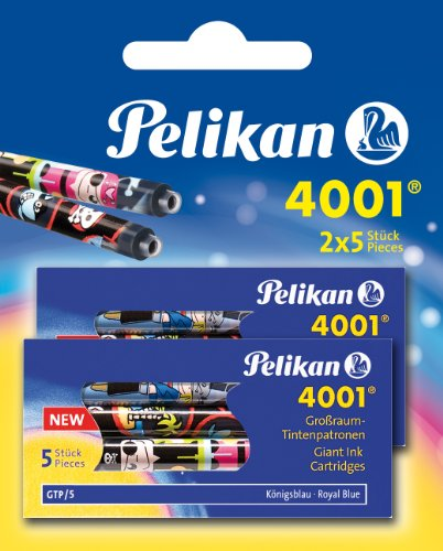 Pelikan 4001 Cartouches d'encre (Bleu roi)