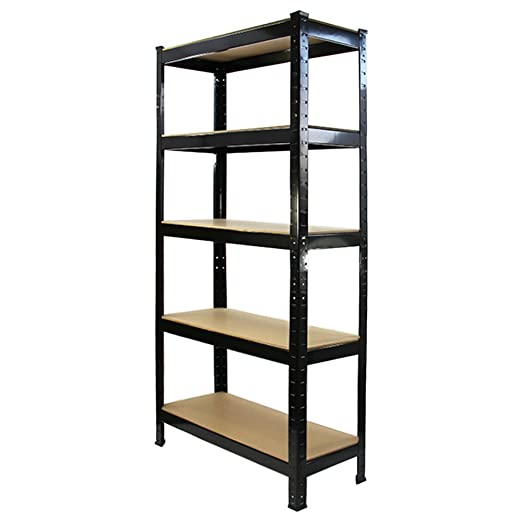 10 Monster Racking T-Rax Heavy Duty Shelving Unit Garage Strong Shelf Units, 75cm x 150cm x 30cm