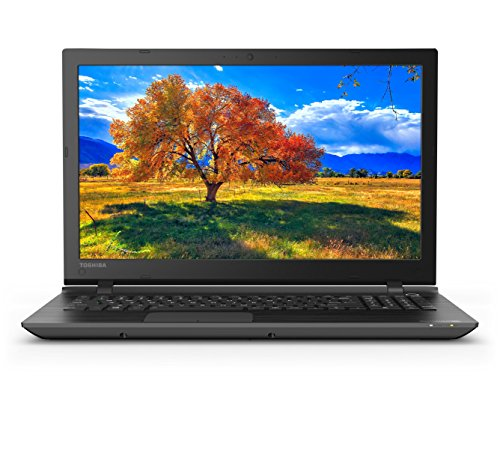 Toshiba Satellite C55-C5241 15.6 Inch Laptop (Intel Core i5, 8 GB, 1TB HDD), Black