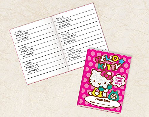 "Amscan Adorable Hello Kitty Phone Book (1 Piece), Pink, 2 3/4 x 2 1/8"" - 1"
