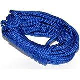 dalipo 33002 - Kordeln, Schnur 4mm, blau