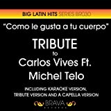 Como Le Gusta a Tu Cuerpo (Tribute Version) (Originally Performed By Carlos Vives And Michel Telo)